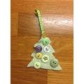 Eleanor's Christmas decoration