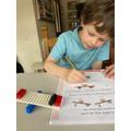 Jake's Lego scales