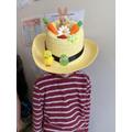 Jack's Easter bonnet