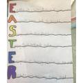 Bella's Easter acrostic peom