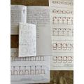 Garrett's letter and spelling practice
