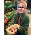 Edward's new pet snake