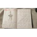 Blake's Safari booklet - Ostriches