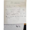 Abigail's prepositions