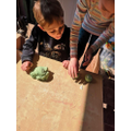 Dexter and Jemima - Making Hungry caterpillar