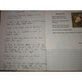 Isobel's writing!