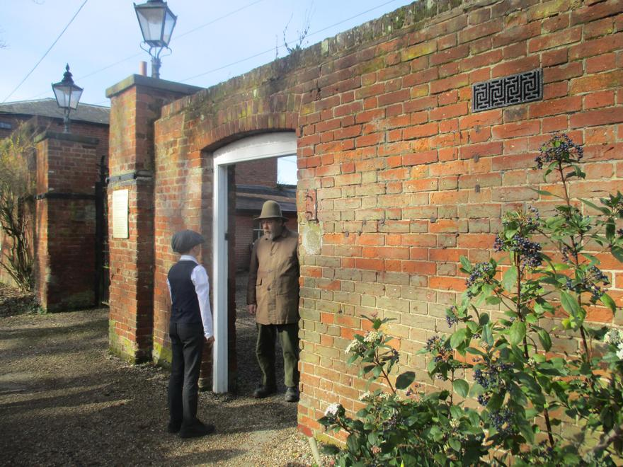 Knocking to gain access to the Workhouse!
