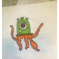 Bella's amazing drawing!
