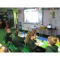 We took part in a Zoom Maths workshop