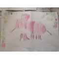 Alfie's Tinga Tinga elephant