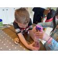Garrett's sensory jar