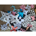 Hannah's snowflakes