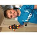 Thomas' Lego toy