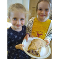 Charlotte and Isobel's baking