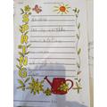 Abigail's Spring poem