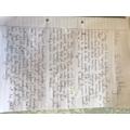 Freya's writing this week part 1