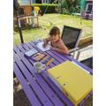 Georgia's outdoor classroom