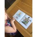 Olivia reading