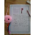 Alice's instructions to make a jelly fish pom pom