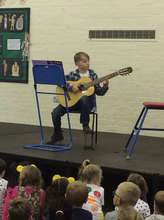 Spellbinding guitar performance