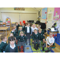 Year 2 act out the Montgomery Bus Incident