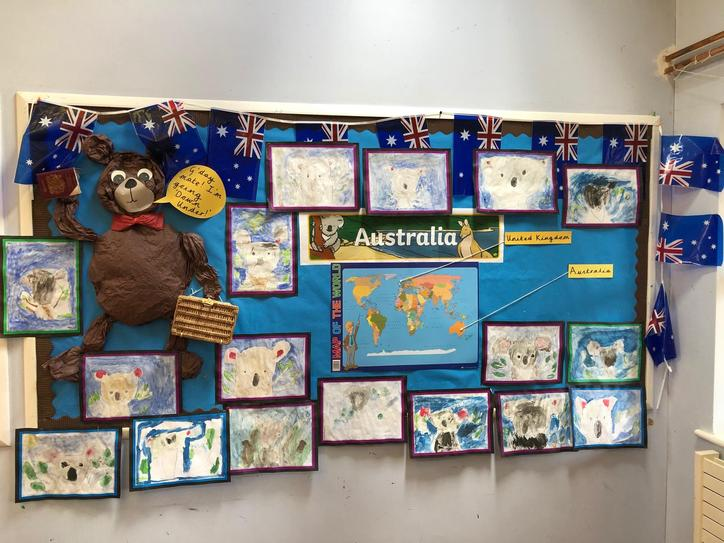 Our Australia display