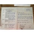 Charlotte's letter!