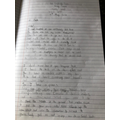 Lois letter from Little Red