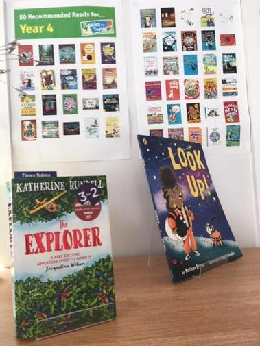 Year 4, Recommended Reads