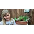 A wonderful herb garden Olivia..