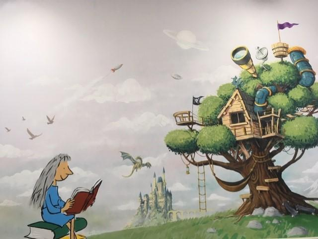 Library Mural