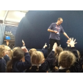 The children loved the Dinosaur Dome!