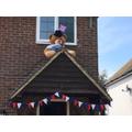 75th VE day Celebrations - Cara's House