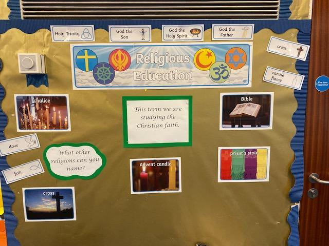 Example display from Year 4