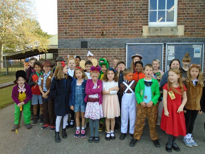 September - Celebrating local author Roald Dahl