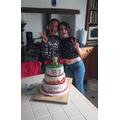 Miranda and Cara in 5A