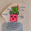 Jemima's designed her own plant too!