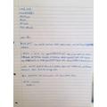 Dylan's Fantastic Letter!