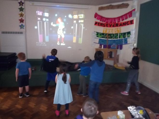 Just Dance! on the wii