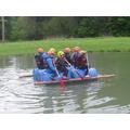 Raft Building Result