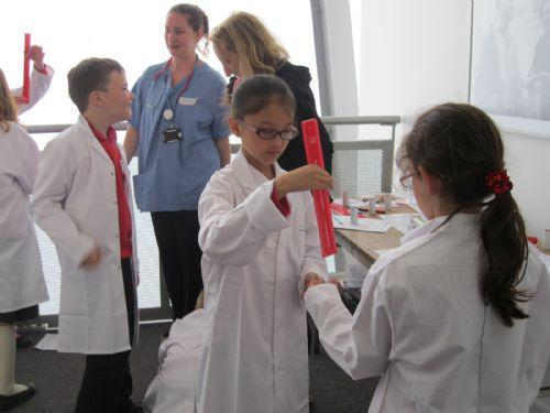 Meet the Medics - investigating basic physiology