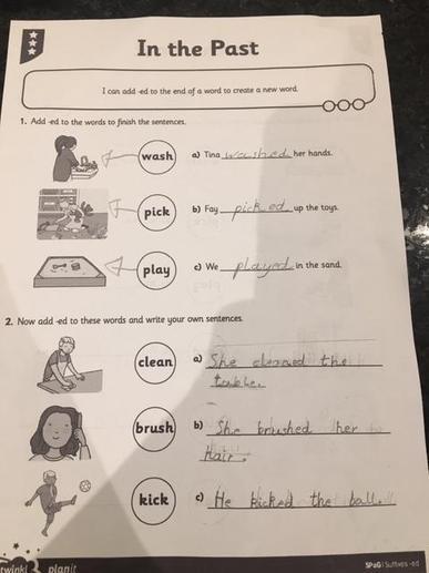 Adit's English Work