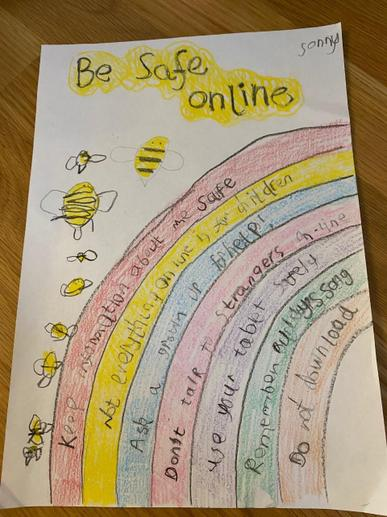 Sonny's Online Safety Poster