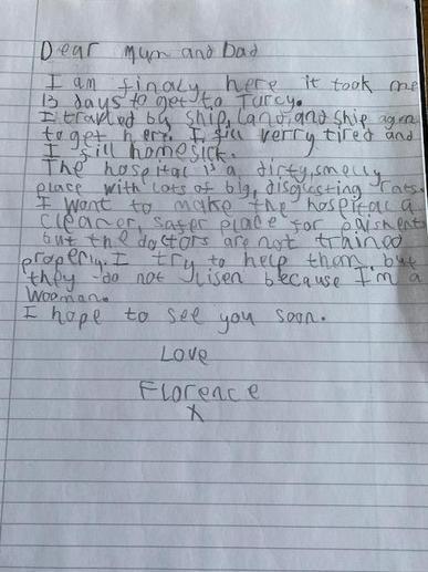 Oscar's Florence Nightingale Letter