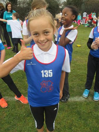 Year 5 Girls District Champion