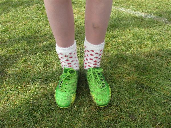Lucky socks!