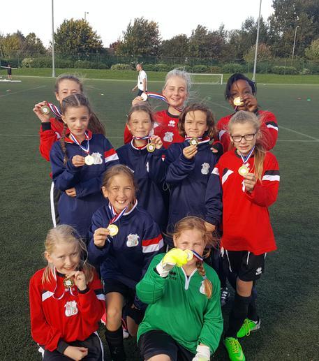 Basildon District Girls 7-A-Side Winners 2017-2018