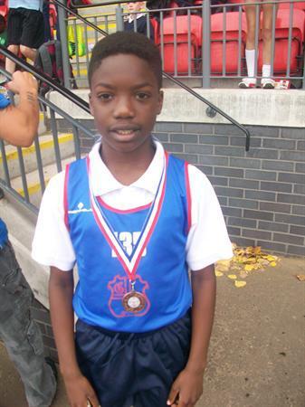 Tayo - Bronze Medal Y5 Boys sprint