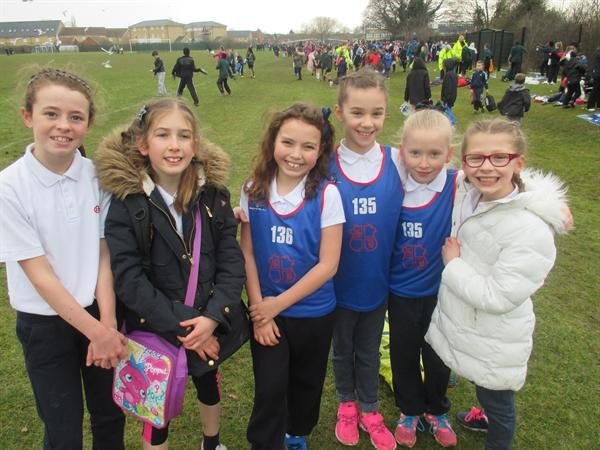 Year 4 Girls, District Cross Country - 3rd Place