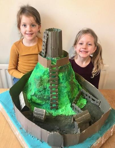 Philippa and Zoe's Castle